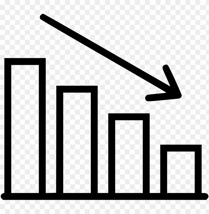 free PNG decreasing stats comments - decreasing graph chart PNG image with transparent background PNG images transparent