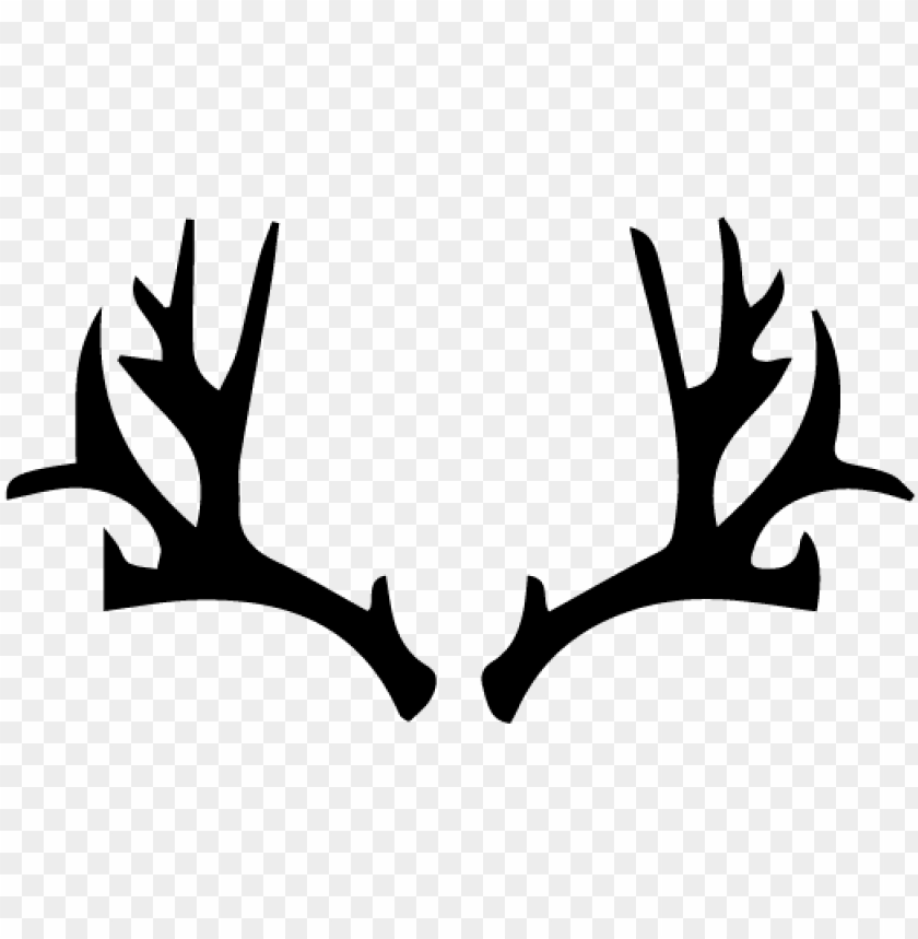 free PNG deer antlers clipart vector - deer antlers tattoo simple PNG image with transparent background PNG images transparent