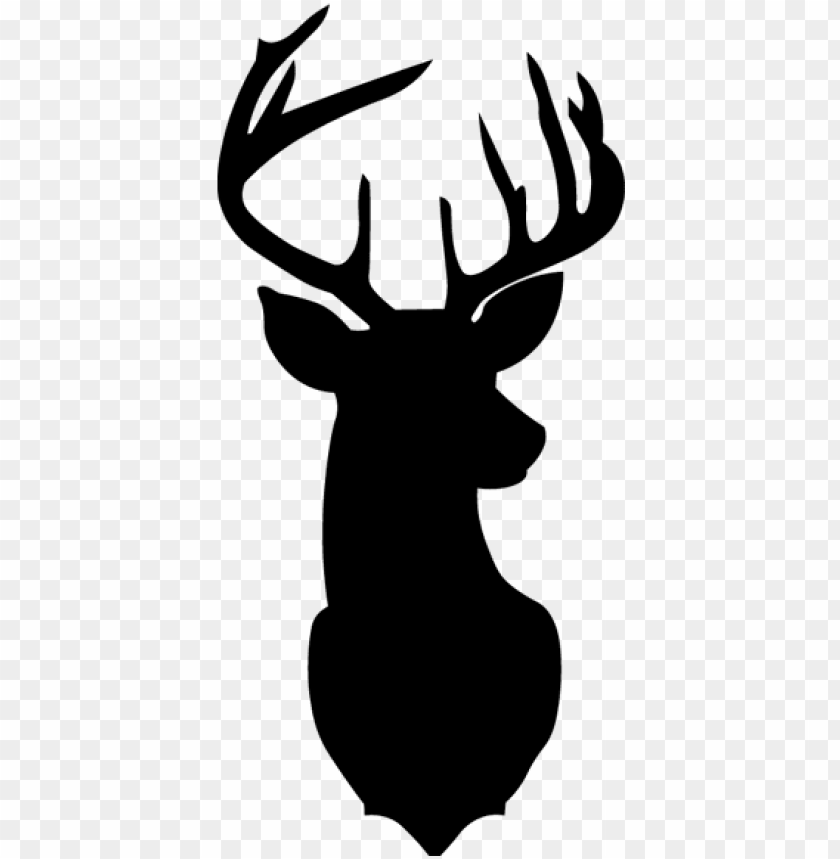 free PNG deer head png photos - christmas deer silhouette PNG image with transparent background PNG images transparent
