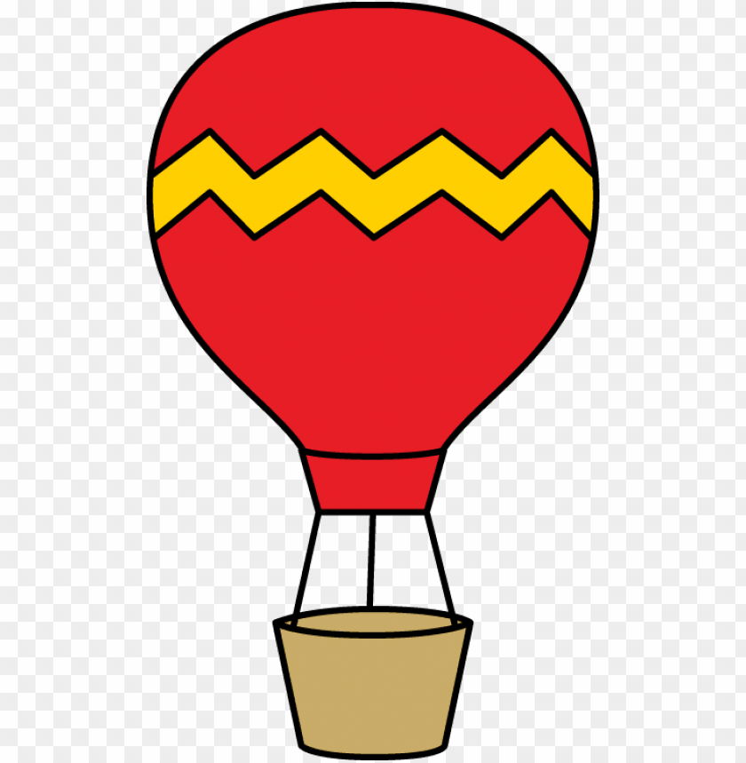 free PNG deflated hot air balloon png - red hot air balloon clipart PNG image with transparent background PNG images transparent