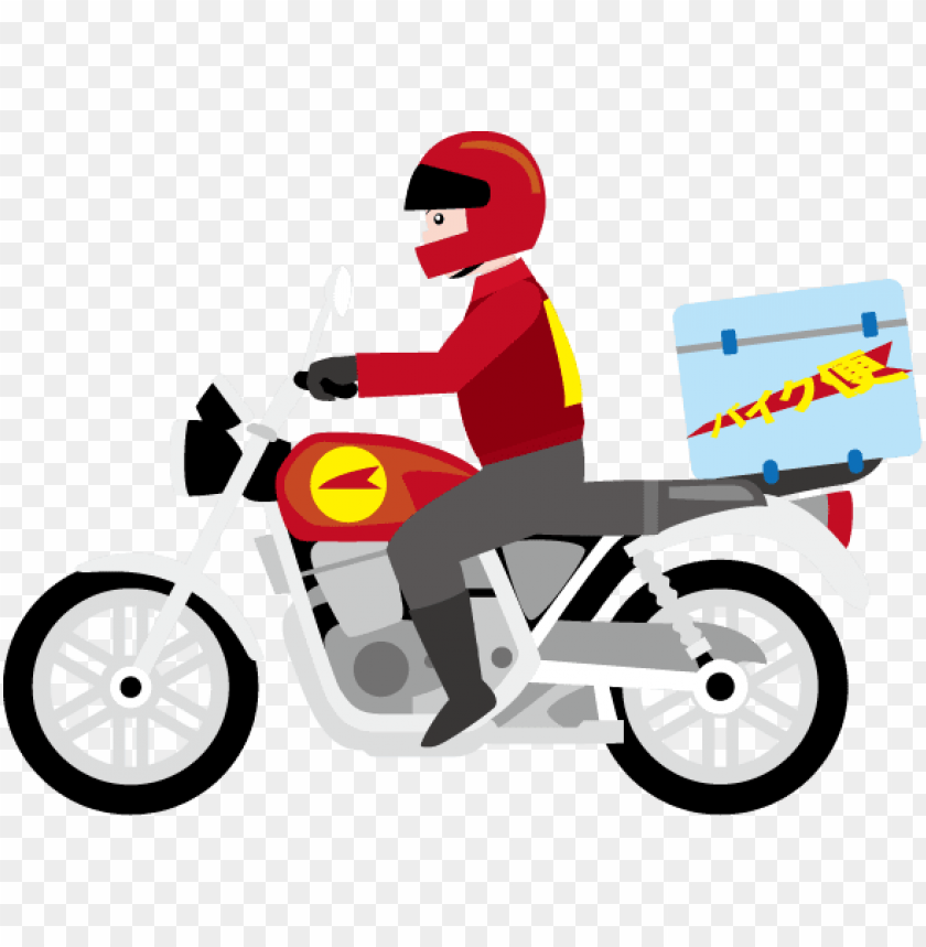 free PNG delivery clipart motorcycle - delivery motorcycle PNG image with transparent background PNG images transparent