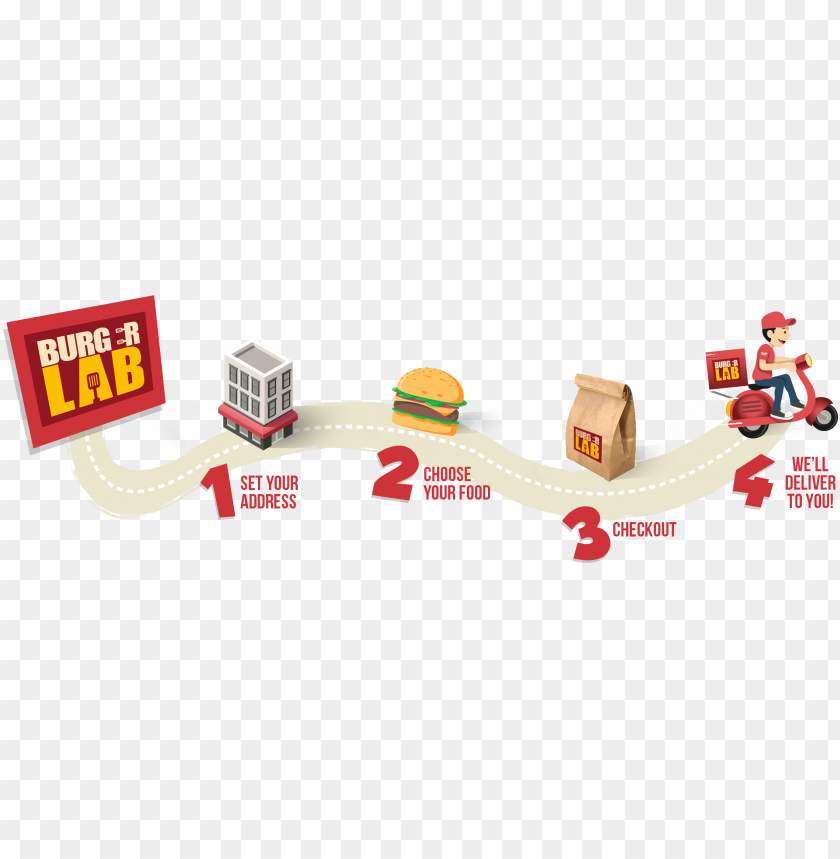free PNG delivery map1 comp - fast food PNG image with transparent background PNG images transparent