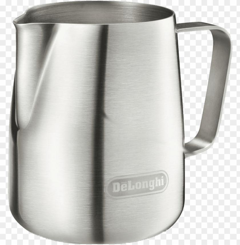free PNG delonghi milk frothing jug - delonghi milk frothing jug - 400ml PNG image with transparent background PNG images transparent