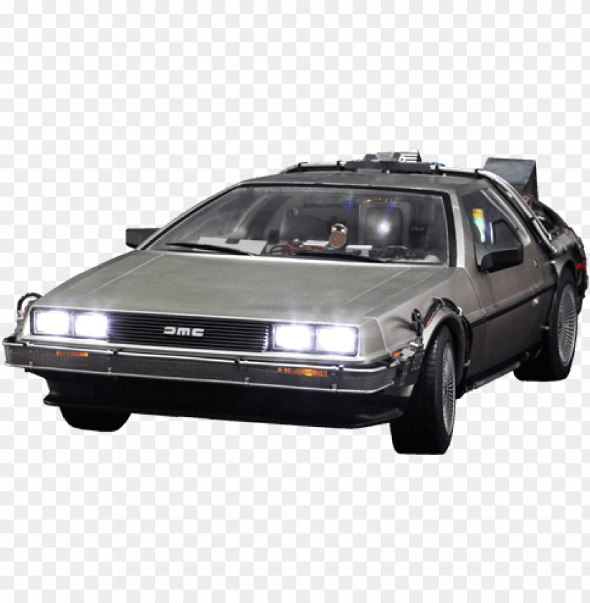 free PNG Download delorean front back to the future png images background PNG images transparent