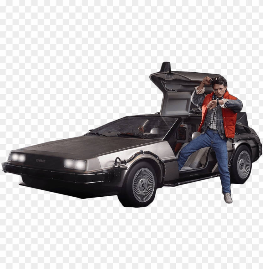 free PNG Download delorean marty back to the future png images background PNG images transparent