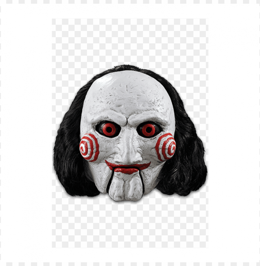 free PNG deluxe saw billy puppet mask - saw billy puppet adult mask PNG image with transparent background PNG images transparent