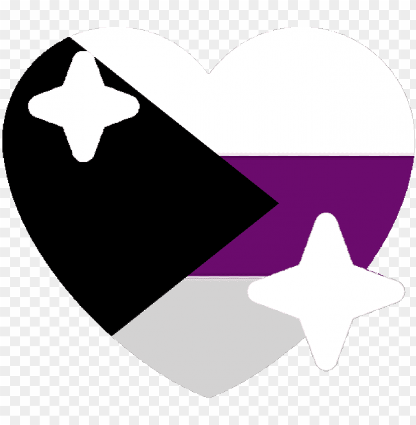 free PNG demisexual sparkle heart discord emoji - demisexual flag emoji PNG image with transparent background PNG images transparent