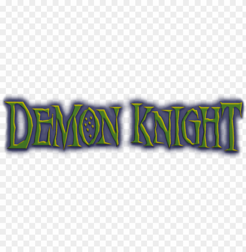free PNG demon knight image - demon knight movie logo PNG image with transparent background PNG images transparent