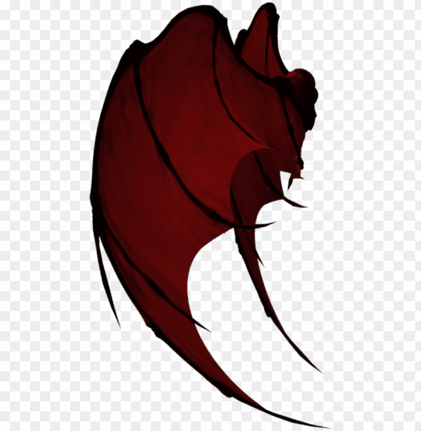 Demon Png Free Download Dragon Wings From The Side Png Image