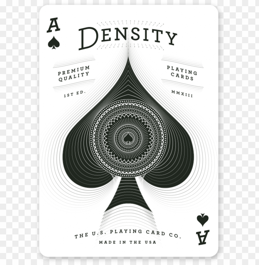 free PNG density deck ace of spades small - playing card PNG image with transparent background PNG images transparent