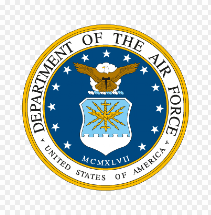 free PNG department of the air force vector logo PNG images transparent
