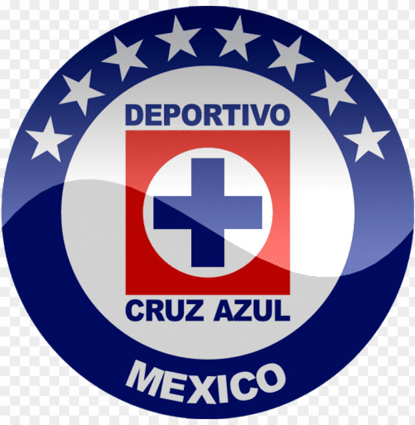 free PNG deportivo cruz azul mexico - cruz azul logo dream league soccer PNG image with transparent background PNG images transparent