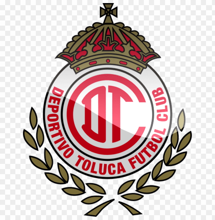 deportivo toluca fc football logo png png - Free PNG Images | TOPpng
