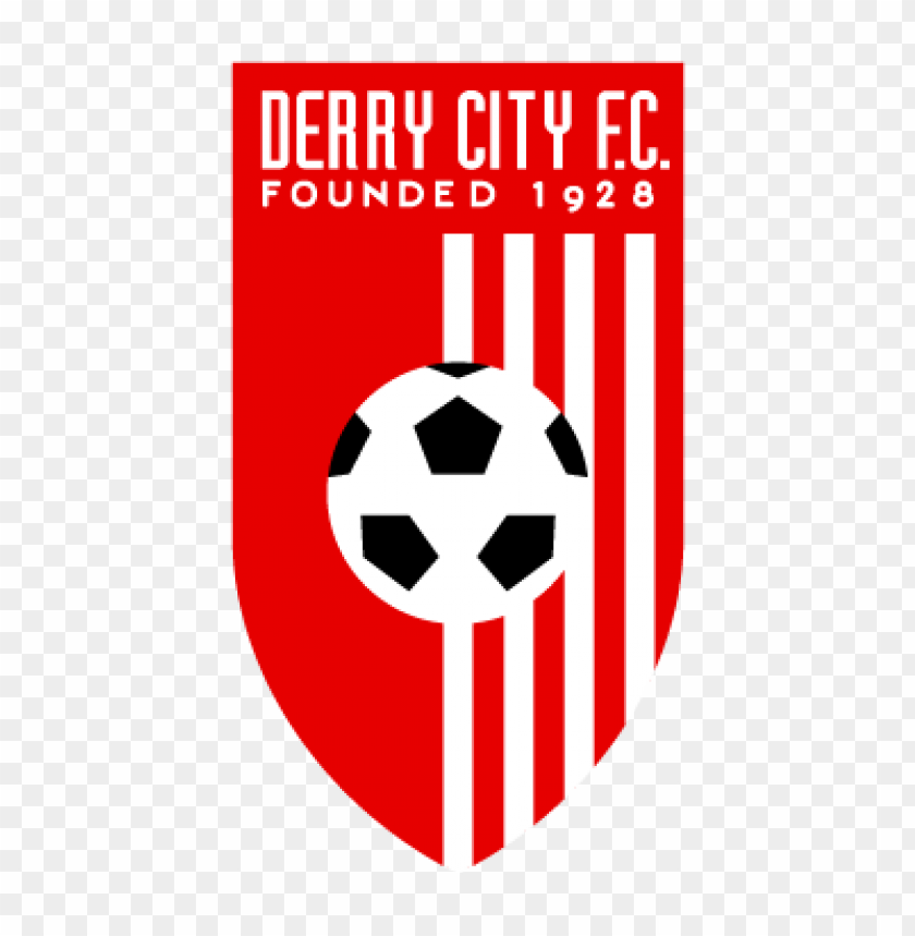 derry city fc vector logo@toppng.com