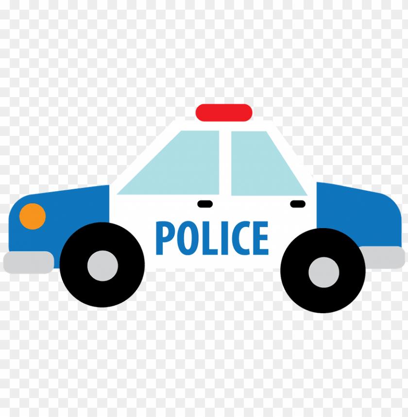 Desenho De Carro De Policia Png Image With Transparent Background