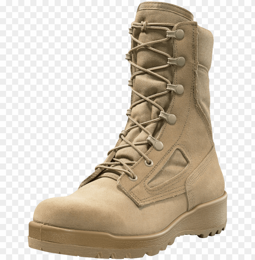 free PNG desert tan combat boots png - Free PNG Images PNG images transparent