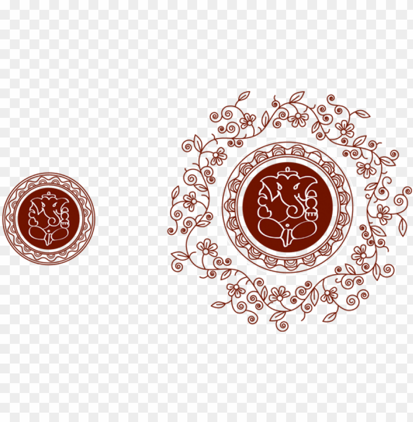 Design For A New Innovative Wedding Invitation Card Circle Png Image With Transparent Background Toppng