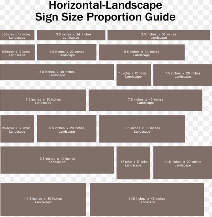 free PNG design your own rustic custom wooden sign - wood sign size chart PNG image with transparent background PNG images transparent