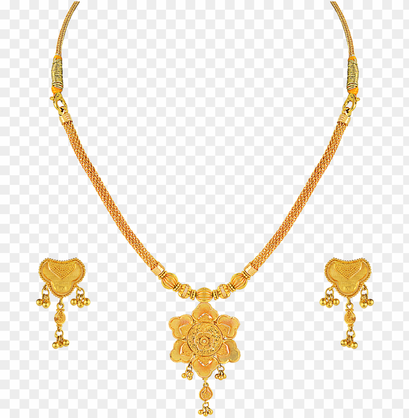 free PNG designs of necklaces gold 4 shining inspiration bridal - gold kitty set with price PNG image with transparent background PNG images transparent