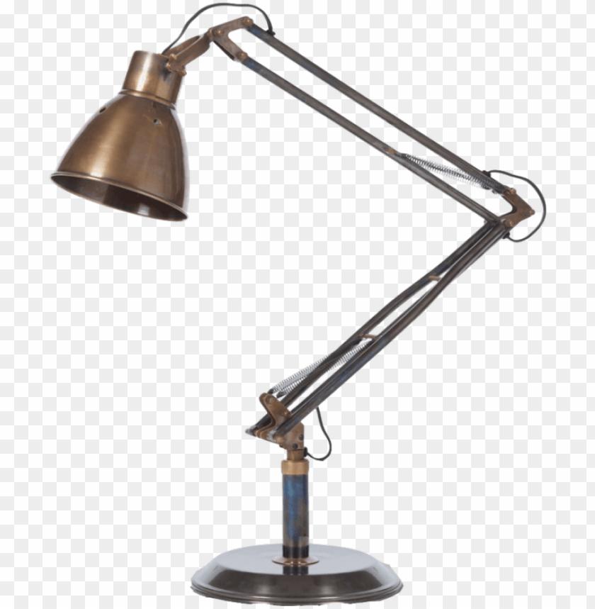 free PNG desk, attractive antique desk lamp metal material adjustable - antique desk lamp PNG image with transparent background PNG images transparent
