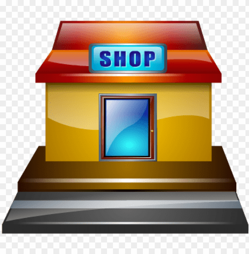 free PNG detail of shop - shop building icon PNG image with transparent background PNG images transparent