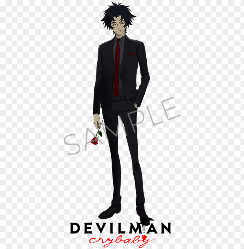 Devilman Crybaby Devilman Crybaby Akira Fudo Png Image With Transparent Background Toppng