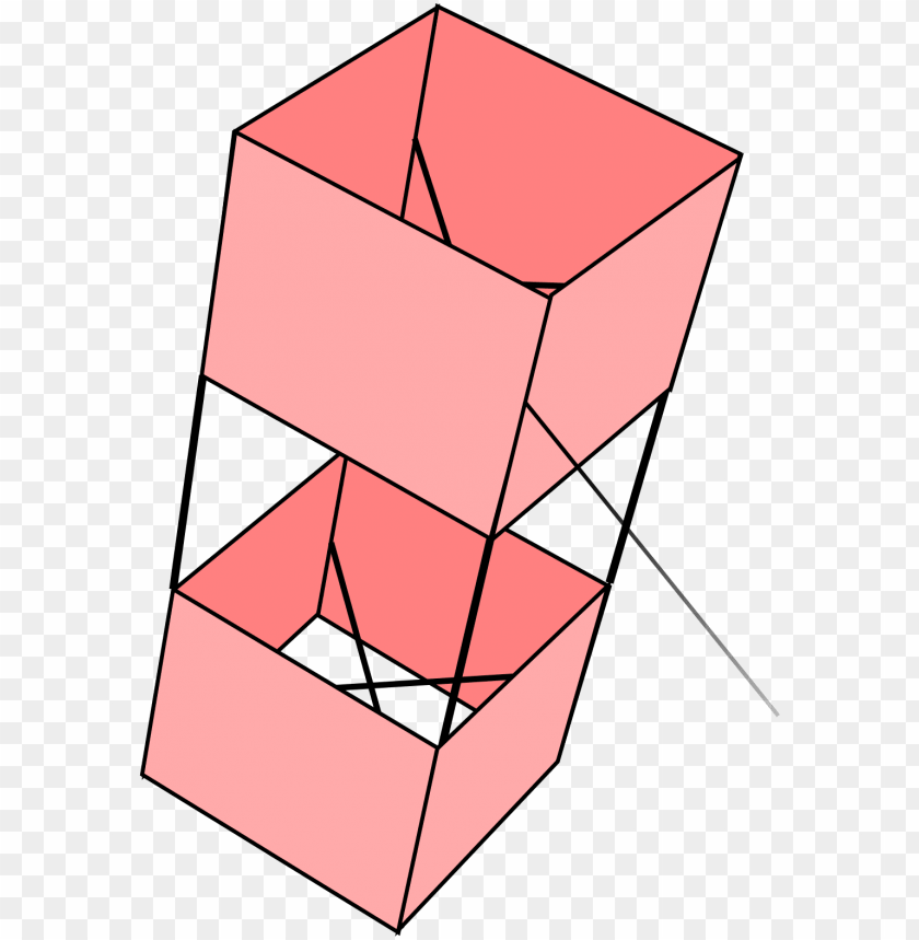 free PNG diagram of a box kite - box kite PNG image with transparent background PNG images transparent