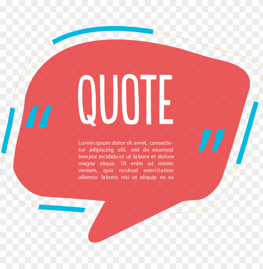 free PNG dialog box text red quote transprent png - dialog box quote box PNG image with transparent background PNG images transparent