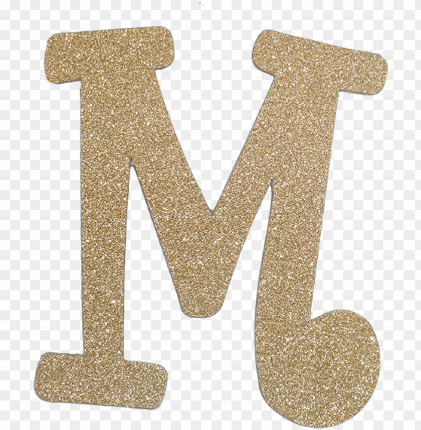 free PNG diamond letter m gold - gold glitter letter m PNG image with transparent background PNG images transparent