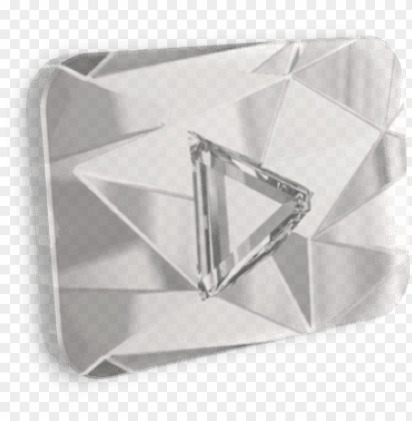free PNG diamond play button devianart - diamond play button PNG image with transparent background PNG images transparent