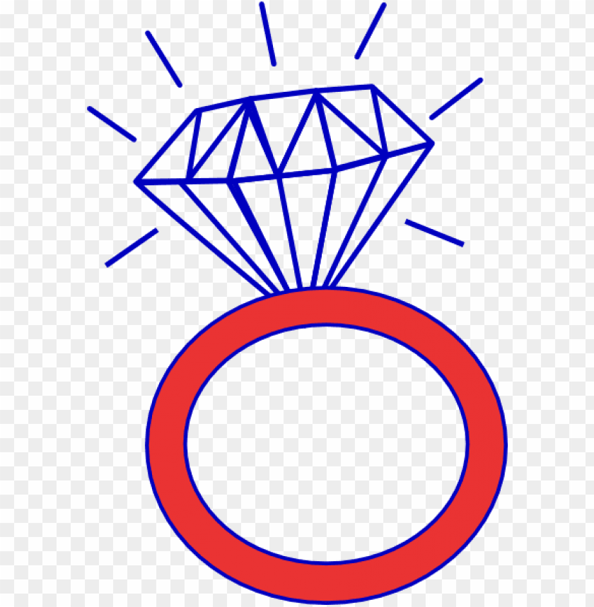 free PNG diamond ring cubs outline clip art - ring clipart black and white PNG image with transparent background PNG images transparent