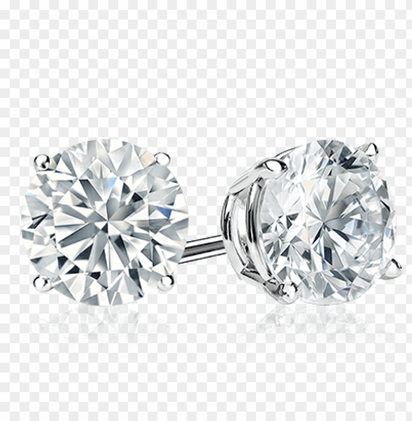 Diamond Stud Earrings Png Image With Transparent Background Toppng