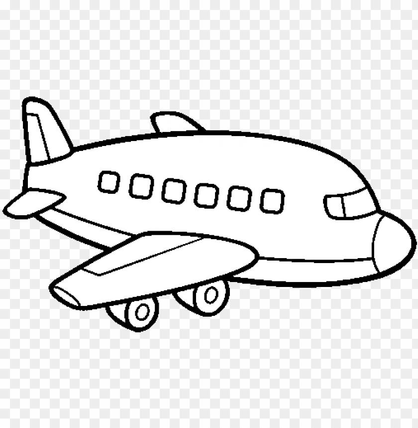 Dibujo De Un Avion De Pasajeros Para Colorear Aviao Desenho