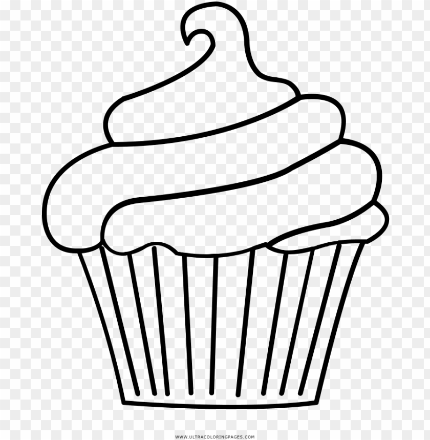 Dibujos O Moldes De Cupcak Cupcake Disegni Da Colorare Molde De