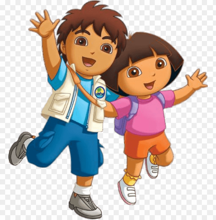 free PNG diego and dora - new dora and diego PNG image with transparent background PNG images transparent