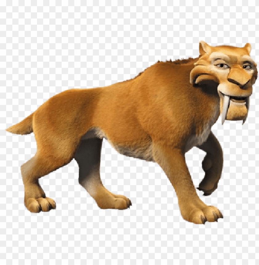 saber tooth tiger aj png image