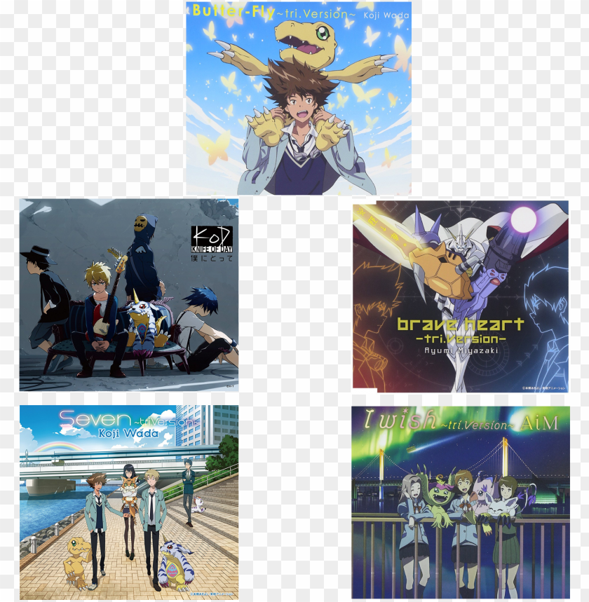 free PNG digimon adventure tri - boku ni totte (digimon adventure tri vol.3 - kokuhaku PNG image with transparent background PNG images transparent