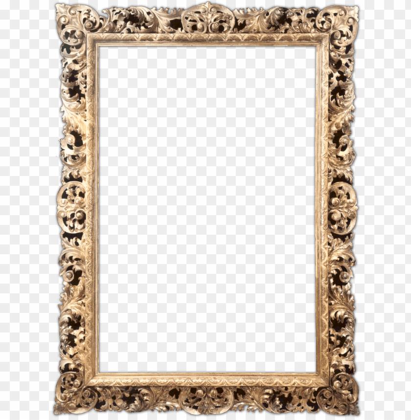 free PNG digital scrapbooking frames png free library - gold frames PNG image with transparent background PNG images transparent