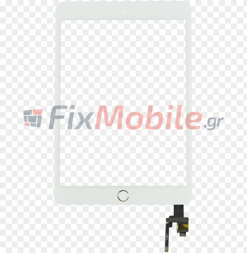 free PNG digitizer apple ipad mini 1-2 white - billboard PNG image with transparent background PNG images transparent