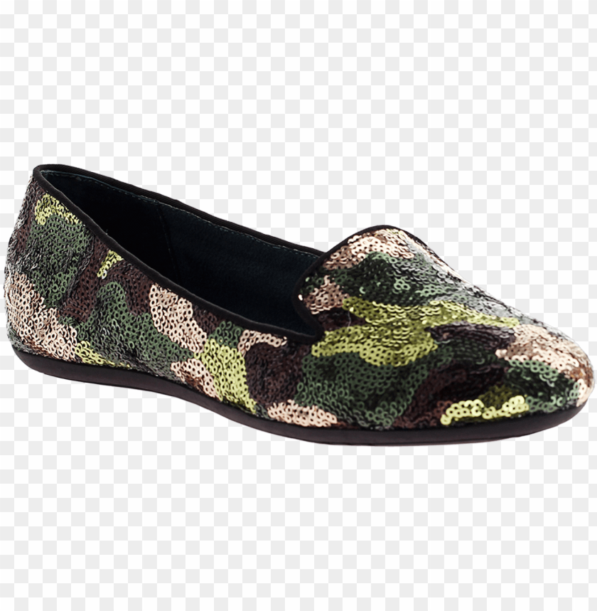 free PNG dimmi, relief, camo sequin, sequin loafer - dimmi ladies shoes ladies footwear fall relief in camo PNG image with transparent background PNG images transparent
