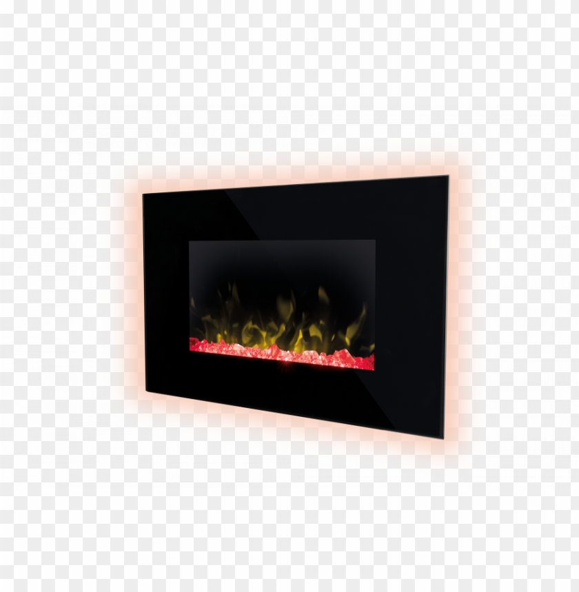 free PNG dimplex toluca wall fire angle crystal - hearth PNG image with transparent background PNG images transparent