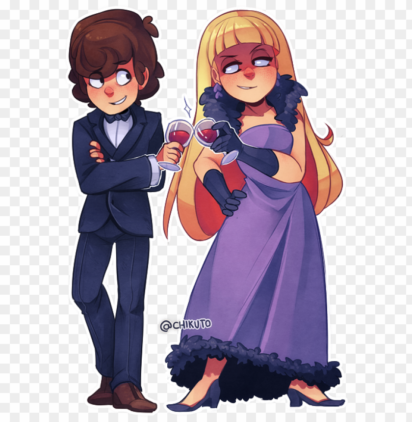 free PNG dipper and pacifica caricaturas, dibujos, gravity falls - anime gravity falls characters PNG image with transparent background PNG images transparent