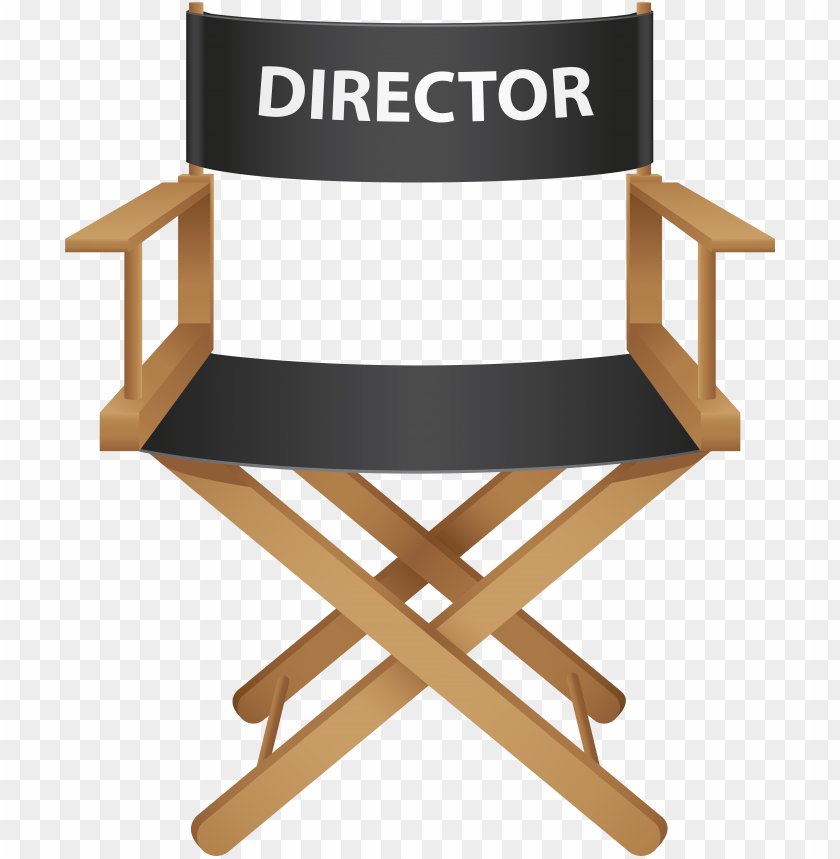 free PNG directors chair png clip art - free director chair PNG image with transparent background PNG images transparent