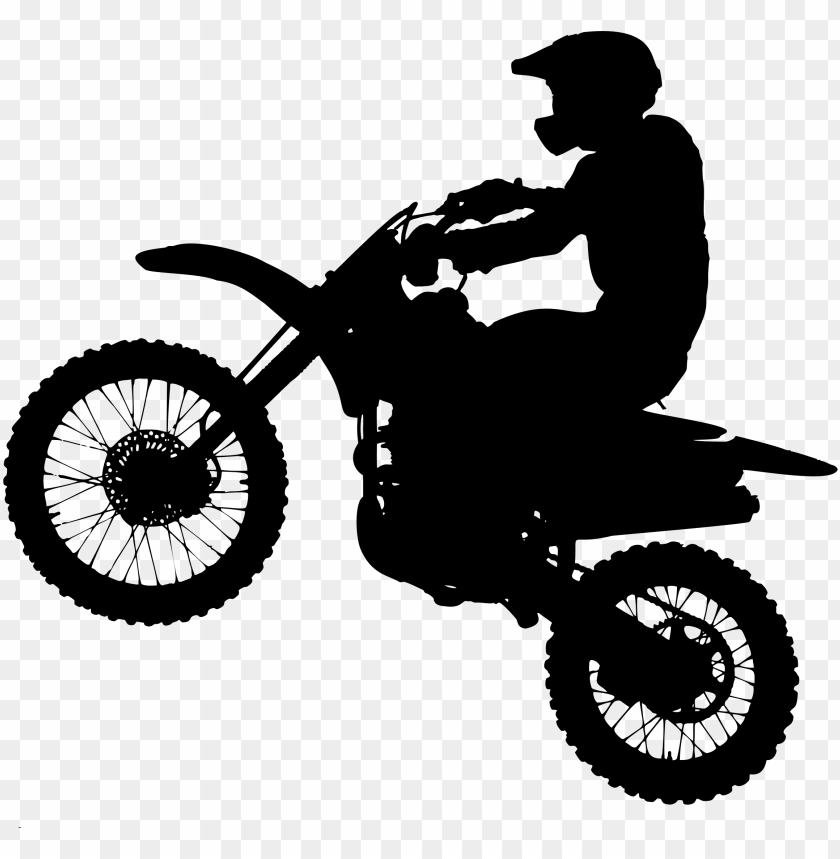free PNG dirt bike silhouette icons png - dirt bike PNG image with transparent background PNG images transparent