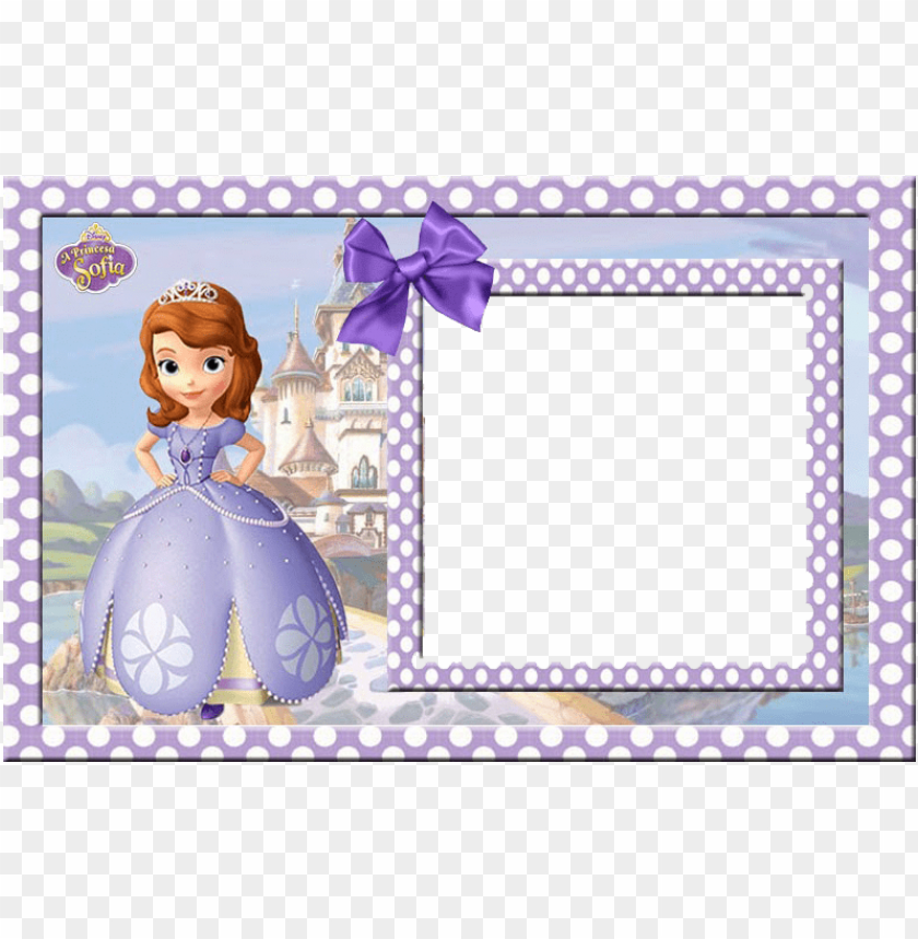 free PNG discover ideas about princess sofia invitations - marcos para fotos de princesa sofia PNG image with transparent background PNG images transparent