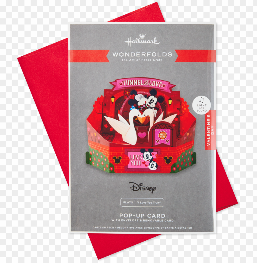 free PNG disney mickey and minnie pop up musical valentine's PNG image with transparent background PNG images transparent