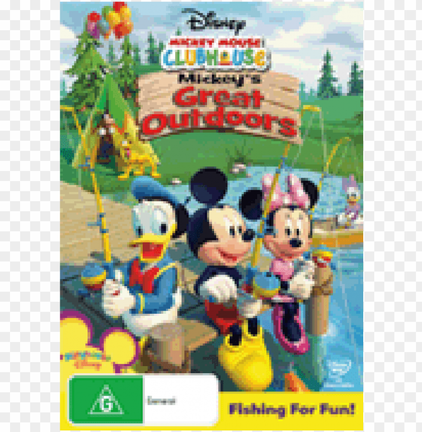 Disney Mickey Mouse Clubhouse Mickey S Great Outdoors Png Image