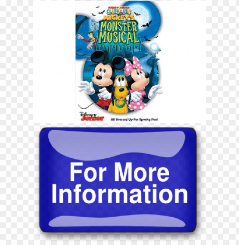 free PNG disney mickey mouse clubhouse: mickey's monster musical PNG image with transparent background PNG images transparent
