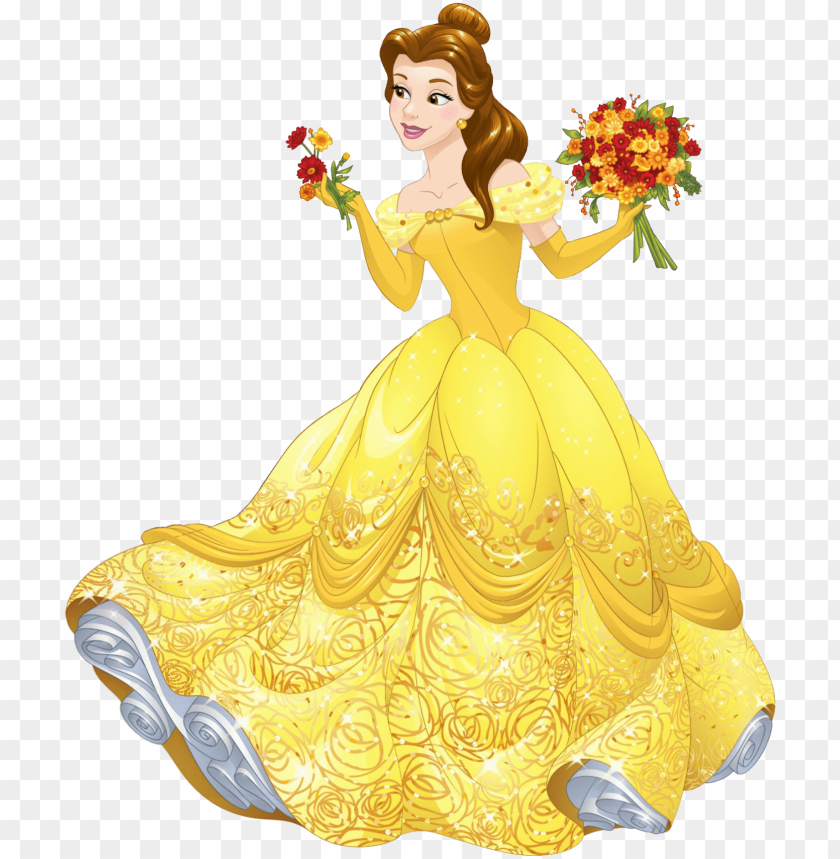 Disney Princess Belle Png Image With Transparent Background Toppng