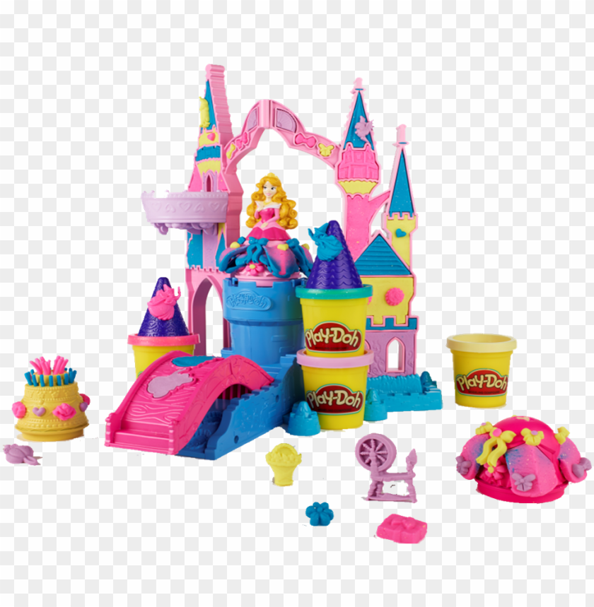 free PNG disney princess magical designs palace playset by play-doh - play doh disney princess PNG image with transparent background PNG images transparent